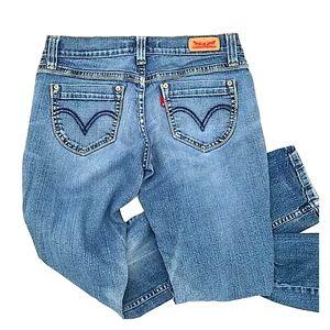 skinny jeans Levi 524 Too Superlow